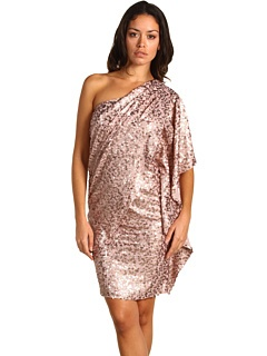 blush and sequins