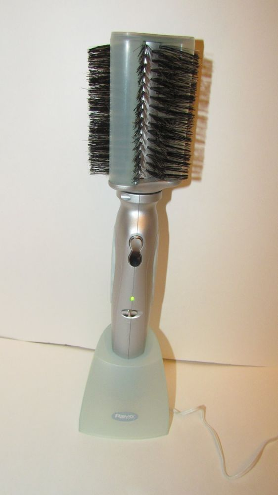 REVO STYLER Rotating Hair Brush STRAIGHTENER Styler Cordless - VERY NICE #RevoStyler