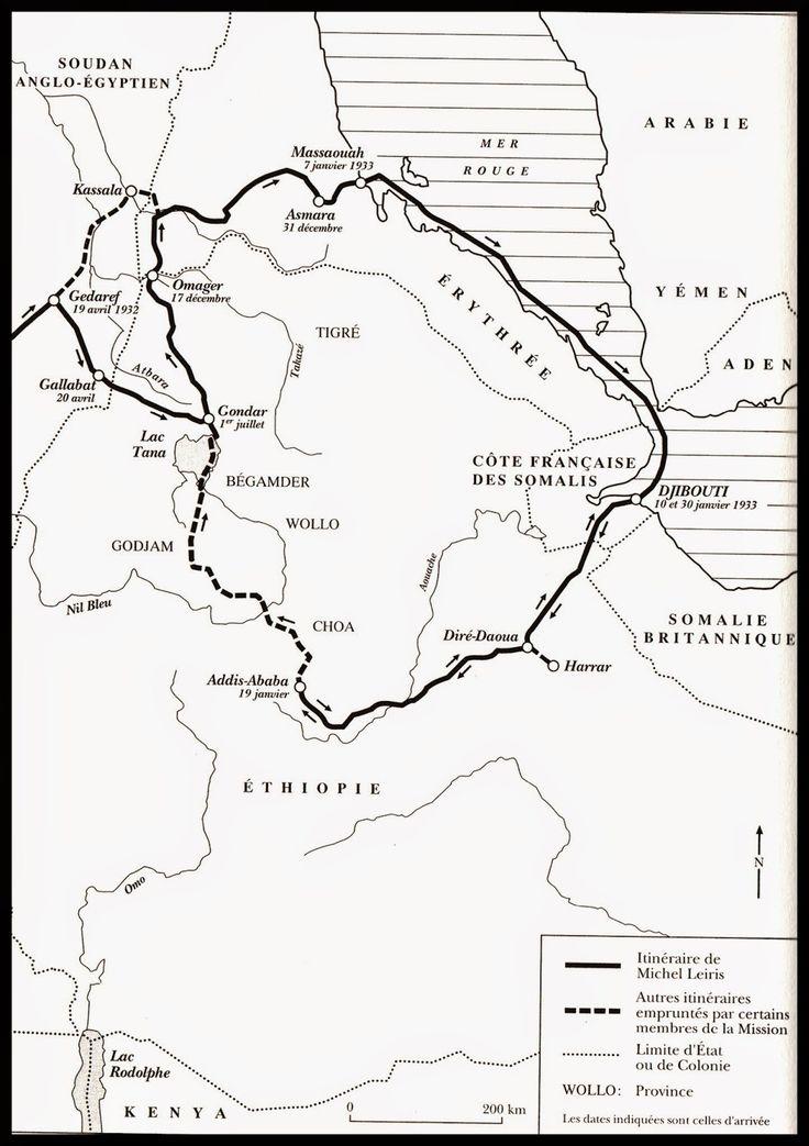 l'autre hidalgo: 18 avril 1932, Gedaref - Michel Leiris