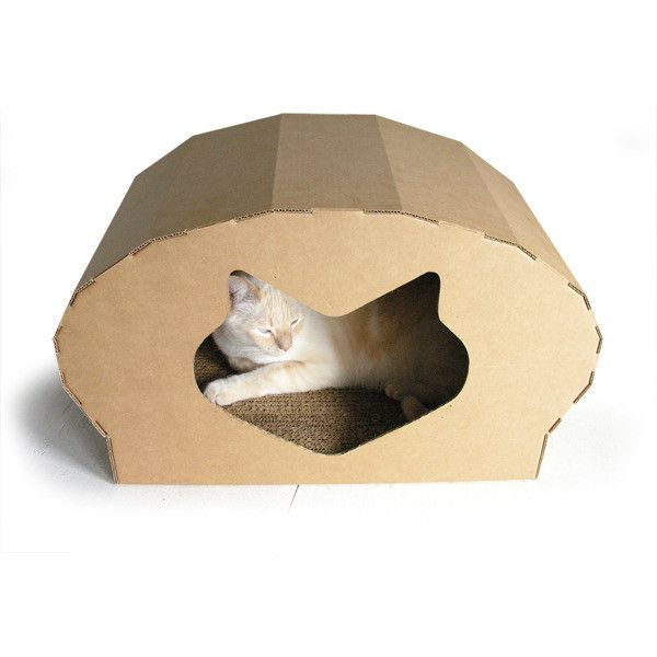 Dome. Cardboard Cat HouseCardboard ...