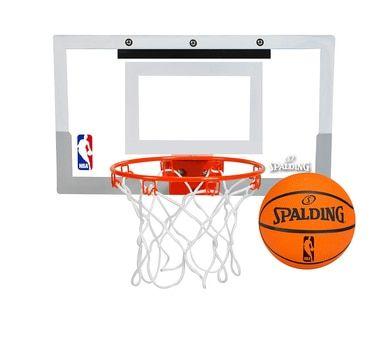 Spalding NBA Slam Jam Mini Basketball Hoop Set