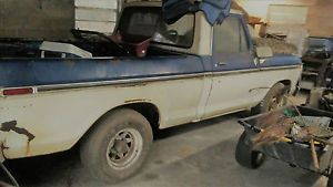 1974 Ford F-100 - item condition used we bought this truck in good working condition in the late 1990s the sticker in the door says that it was manufactured 873