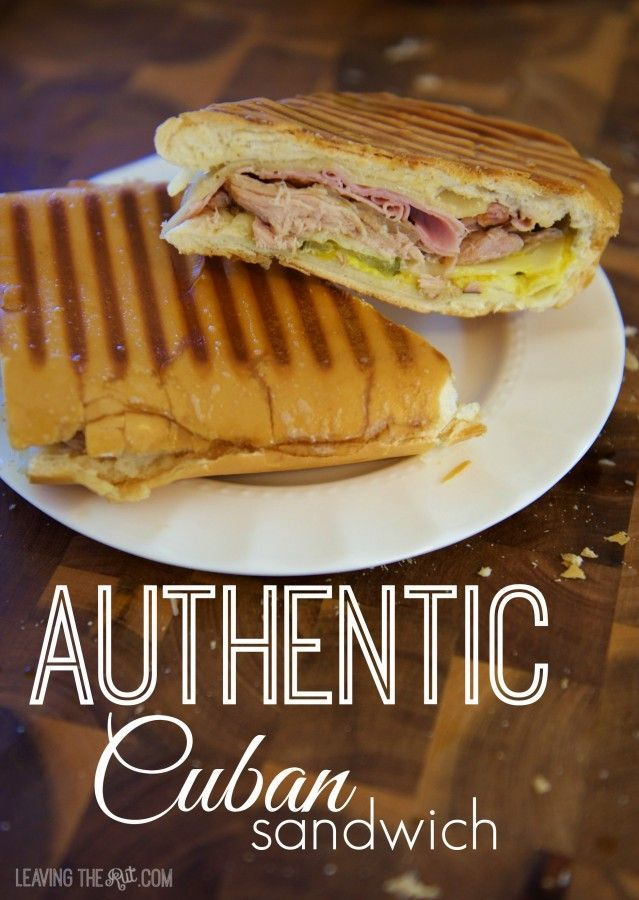 188 best images about food sandwiches on pinterest for Authentic cuban cuisine