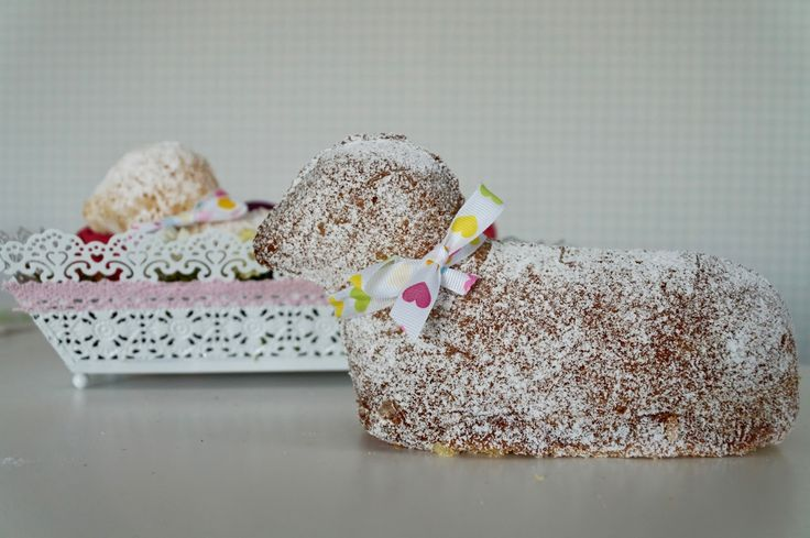 Baranek z ciasta