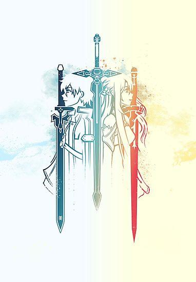 Sword Art Duo by davidgoh