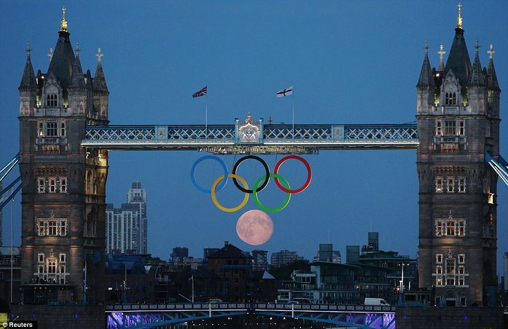Full moon, Tower Bridge