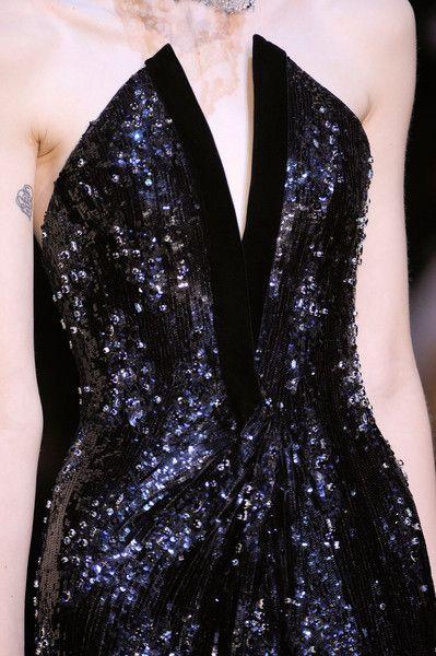 Armani Privé Fall 2012: Elia Eye, Black Dresses, Giorgioarmani