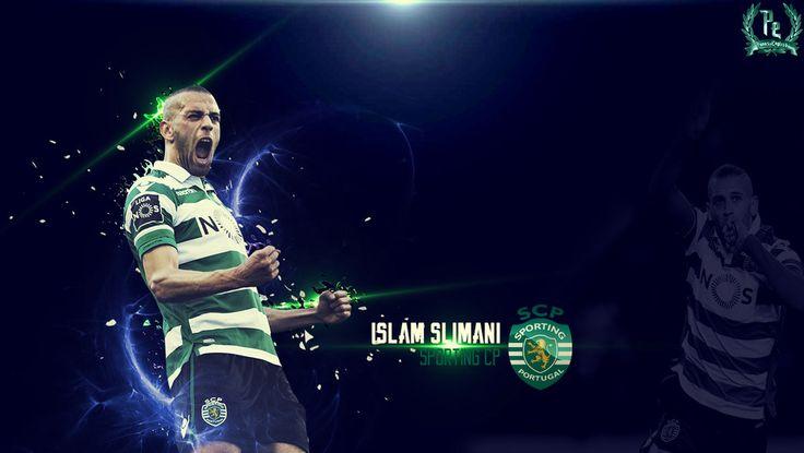 Islam Slimani by PanosEnglish.deviantart.com on @DeviantArt