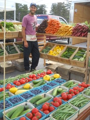 farmers market vegetable display - Google Search