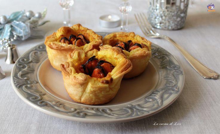 Cestini di Sfoglia con Crema allo Zafferano e Cozze - La Cucina di Lice