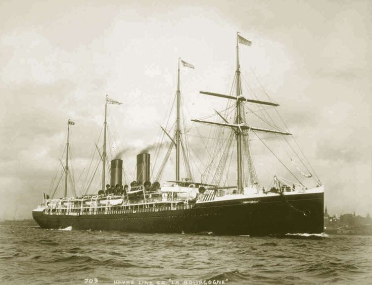 SS La Bourgogne – Sank on 4 July 1898 after a collision in dense fog with a British ship off Sable Island, Nova Scotia. She was carrying 730 passengers and crew, of whom 565 were lost. Only 173 people survived, but fewer than 70 survivors were passengers, only one woman was rescued, and all children perished. Reports circulated that the crew had refused to aid passengers in the water, to the point of stabbing them. Surviving crew members required police protection upon their arrival in New…
