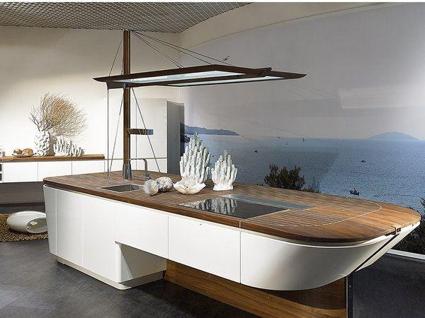 Tendencias en cocinas cocinas inspiraci n y dise o de for Cocinas para barcos