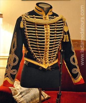 Dolman de capitaine d'artillerie de la garde