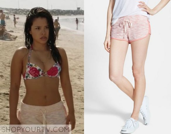 The Fosters: Season 3 Episode 4 Mariana's Peach Shorts