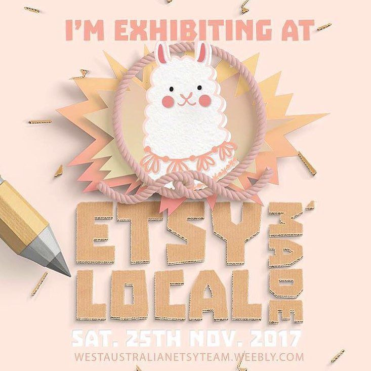 Two Saturdays from today we will be at the Perth Etsy Made Local Market (eeeepppppp) with all our goodies and 70 other AMAZING stall holders!!! Search the #emlp2017 hashtag for a little preview!! We hope to see you there!!! . #perthevents #perthlife #perthisok #perthisokay #whattodoinperth #perthmarkets #perthtodo #perth #localmarkets #etsymadelocal #perthmums #perthcreatives #shopsmall #supporthandmade