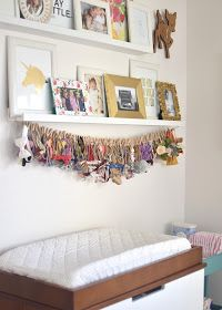 Phayre's nursery has quickly become my favorite room in the house. It's so light and bright, it makes me happy just walking in there! Eric...