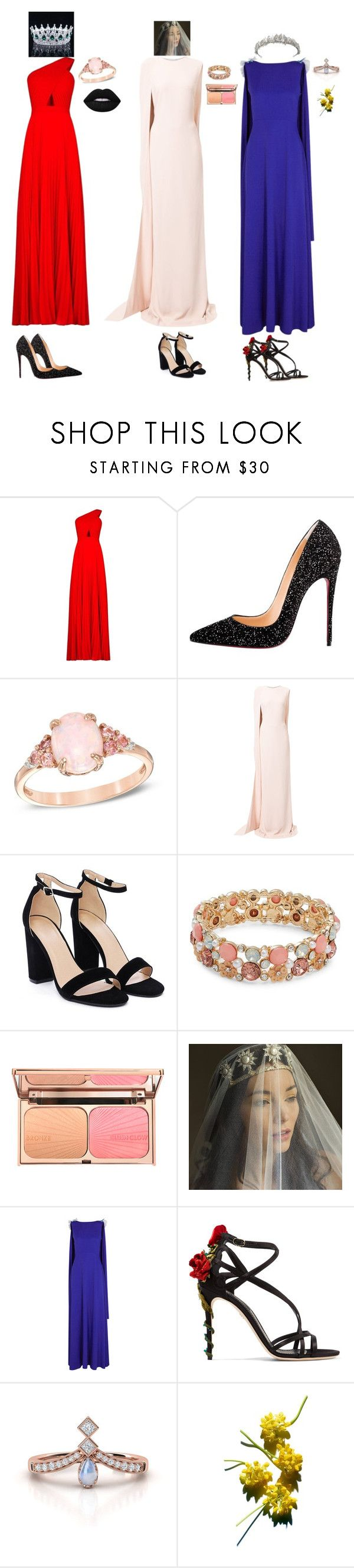 """Fiesty"" by kyliemeadowsmith ❤ liked on Polyvore featuring BCBGMAXAZRIA, Christian Louboutin, STELLA McCARTNEY, Nasty Gal, Design Lab, Safiyaa and Dolce&Gabbana"