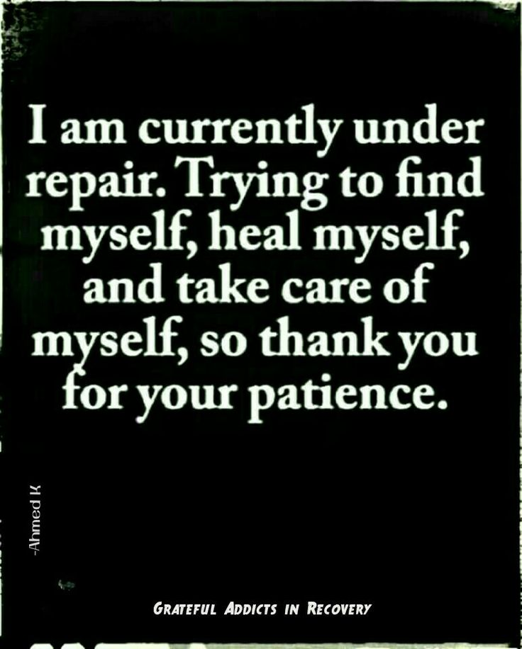 i love this. i constantly under repair and finding myself. thanks so much to those who are patient and understand that this is life. fuck you to the ones that try to take advantage. i'm not stupid, i see you.
