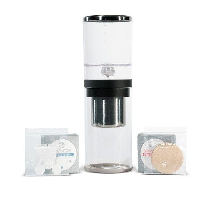 2-Cup Basic Cold Drip Brewer Coffee Maker