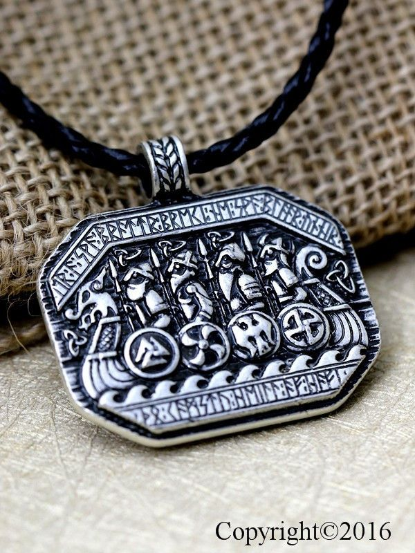 Inspired by Norse Mythology, this Antique Silver plated Pendant symbolizes Mjolnir, the Hammer of Thor. This Amulet represents one of the most powerful weapons, capable of levelling mountains. It is a