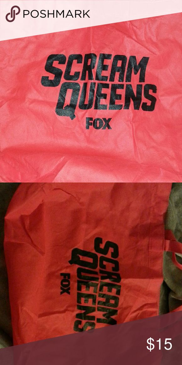 Scream Queens Fox Tote bag New tote bag from the premiere of Season 1. Collectible. Scream Queens Fox Bags Totes