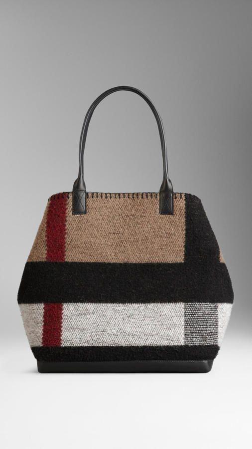 Burberry Medium Check Blanket Tote Bag  Burberryhandbags  64168526b06e8