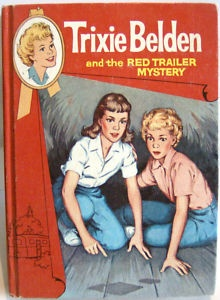 I use to read Trixie Belden books when I was a kid!