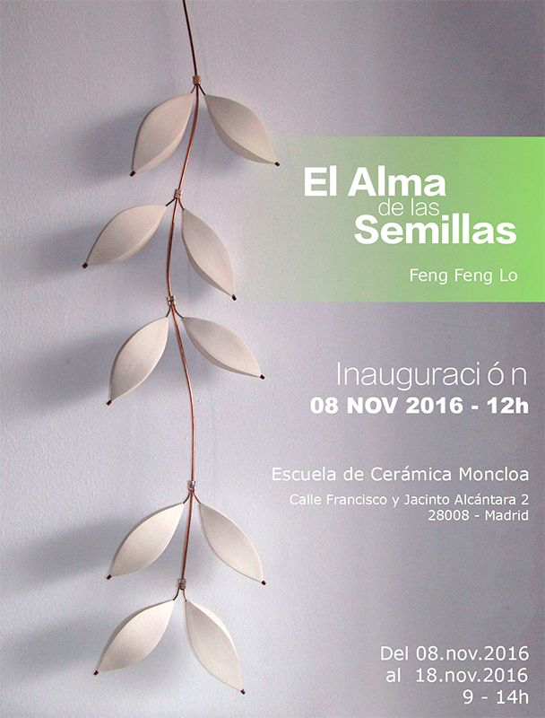 Cartel de l exposición de Feng Feng Lo