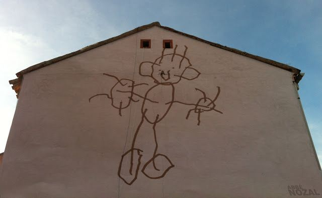 Cada día una foto de Palencia, realizada por ABBÉ NOZAL: Medianera del garabaTeo