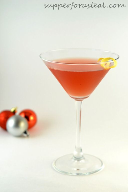 Pomegranate Cosmo - Supper for a Steal