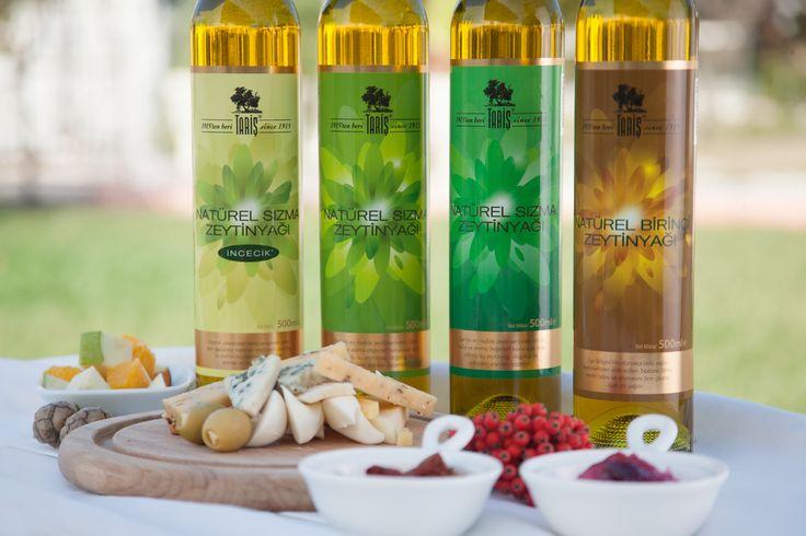 Özel Ürünler serisinde Tariş Naturel Sızma Zeytinyağları