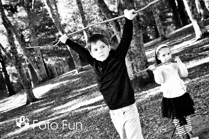 Cool brother and sistr with attitude in Te Koutu park