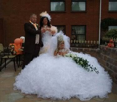 biggest wedding dress in the world some crazy some