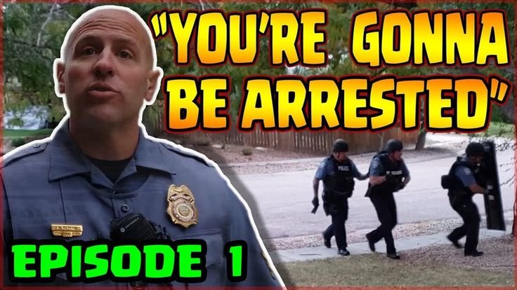 Cop Threatens Citizen How The Lackluster Channel Started Police Sergeant Cops Intense