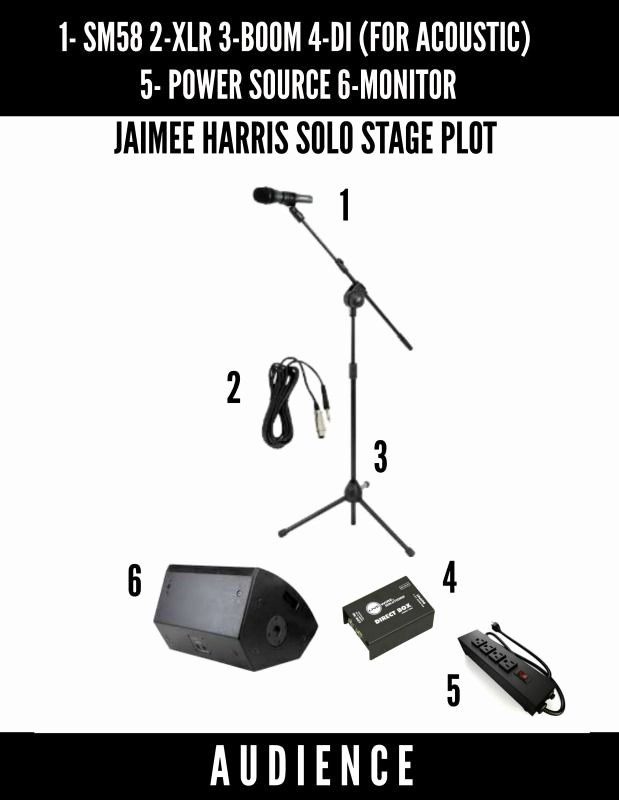 Band Input List Template Beautiful Jaimee Harris Stage Plot Solo List Template Templates Contract Template