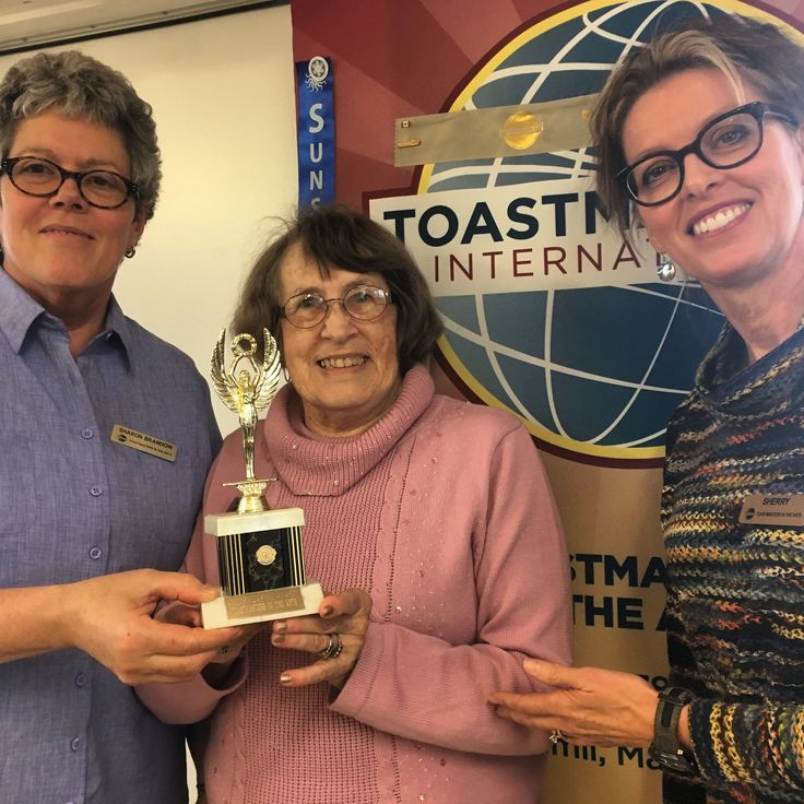 Always a lot of smiles at #Toastmasters in the Arts.