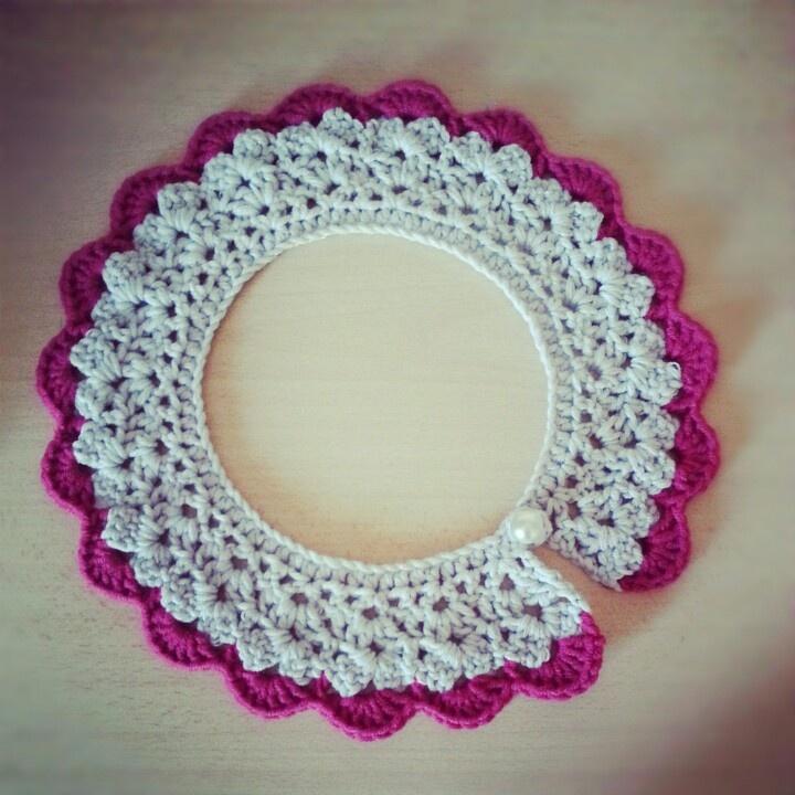 crochet collar.. ♡♥♡♥♡