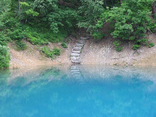 Lacul Albastru (langa Baia Sprie, Maramures)