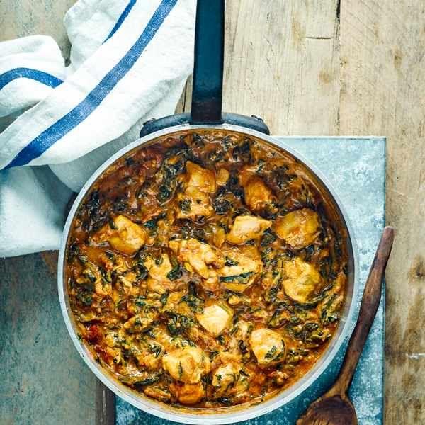 Cardamom chicken curry