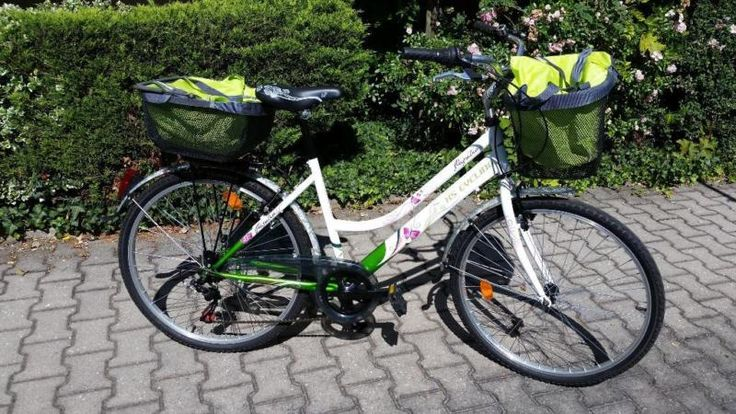 KS Cycling | Cityrad 6 Gänge Damenfahrrad Papilio 26 Zoll | weißNEUPREIS 249…