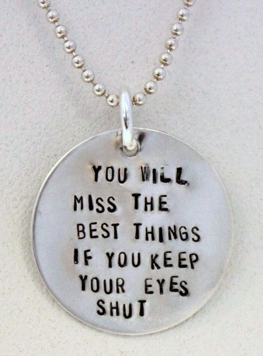 You will miss the Best Things Necklace