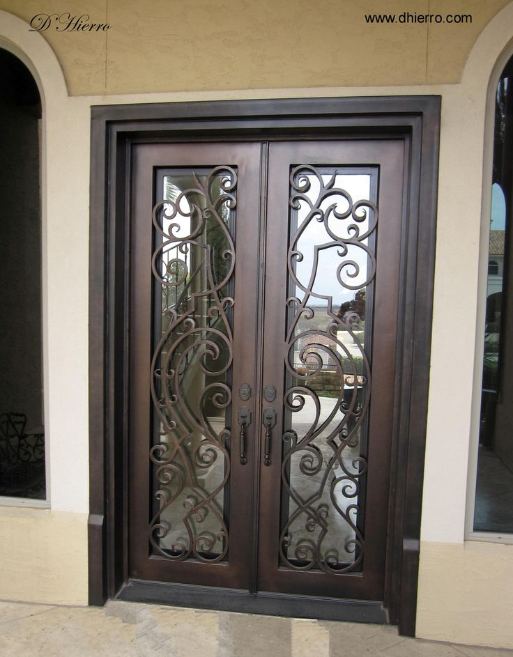 D 39 hierro herreria n n pinterest hierro ventana y for Ver disenos de puertas de fierro