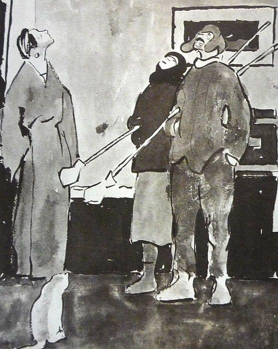 Сойфертис Леонид Владимирович (Россия, 1911-1996) «Маляры»