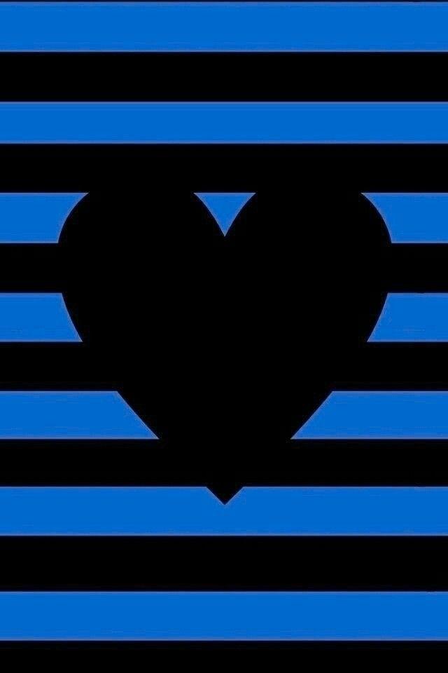 Blue Black Heart Heart Wallpaper Oneplus Wallpapers Broken Screen Wallpaper
