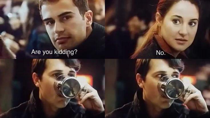 Hahaha, Will's face!