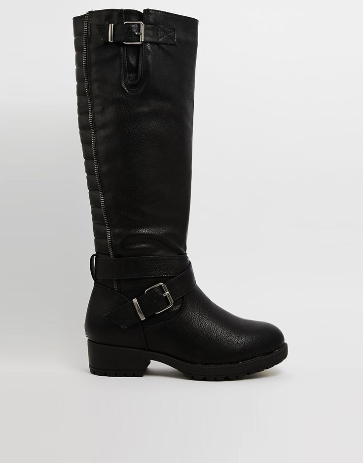 17 best ideas about knee high flat boots on pinterest for Franco sarto motor over the knee boots