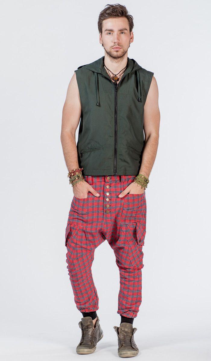Мужские галифе в клетку.  Men's plaid trousers breeches. 5220 рублей http://indiastyle.ru/products/krasnye-galife-orlean
