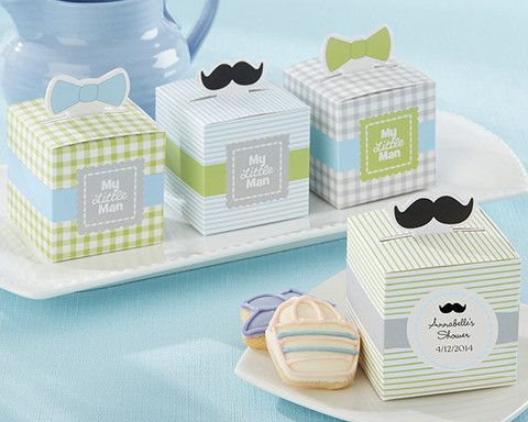 My Little Man Favor Box Set Of Available Personalized Boston Baby Co