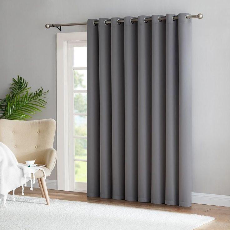 best 25 patio door curtains ideas on pinterest slider door curtains sliding door curtains. Black Bedroom Furniture Sets. Home Design Ideas