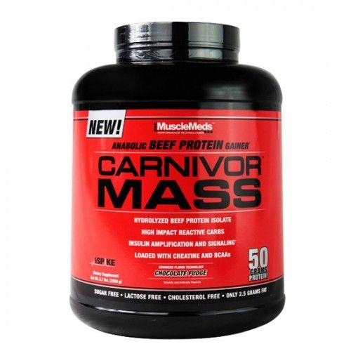 Carnivor Mass: El ganador de masa para crear solo músculos.  http://nutripoint.com.pe/p/carnivor-mass-5-6-lb-musclemeds/